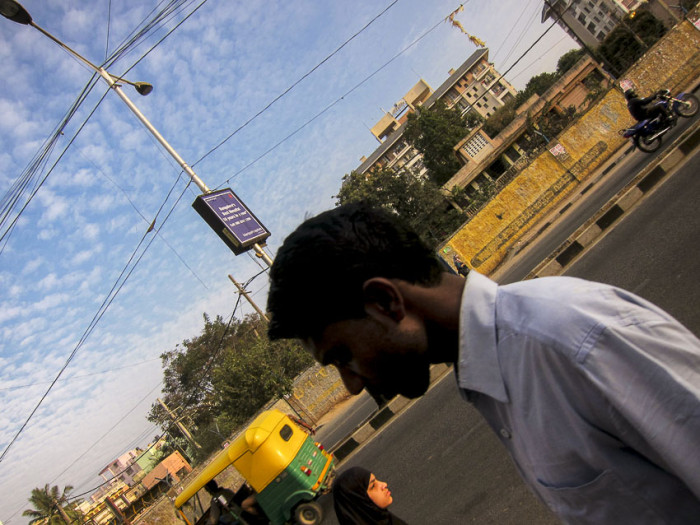 Street Scene, @Bangalore
